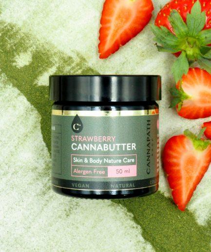 strawberry cannabutter